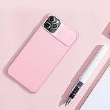 Защитный чехол Nillkin для iPhone 11 Pro (CamShield Case) Pink с защитой камеры, фото 4