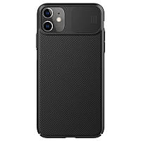 Защитный чехол Nillkin для iPhone 11 (CamShield Case) Black с защитой камеры