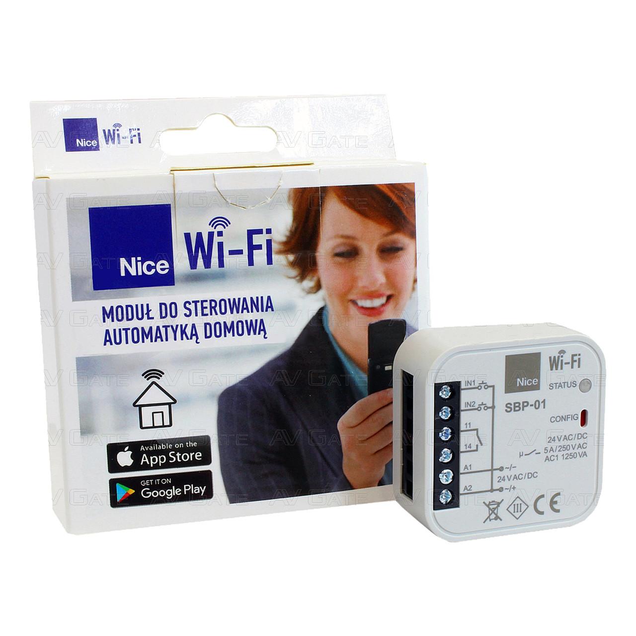Универсальный модуль Wi-Fi SBP-01 Nice