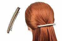 Заколка для волос Callisia автоматическая, 10см, металл, разные цвета, женская заколка, заколка-автомат, фото 1