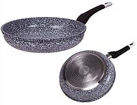 Большая глубокая сковородка 28см 3.2л Edenberg EB-9156 Сковорода с гранитным антипригарным покрытием