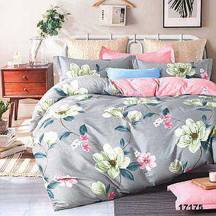 Комплект постельного белья  ранфорс 17175