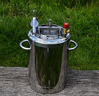 Автоклав для домашнего консервирования ЛЮКС - 14 из нержавеющей стали