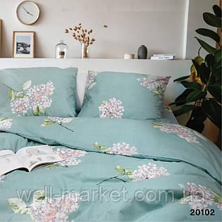 Комплект постельного белья  ранфорс 20102 евро