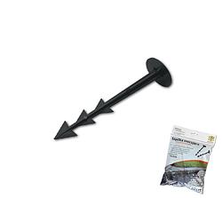 Штифт прямой для крепления агроткани, 12см,  (20шт), ATSU12+B