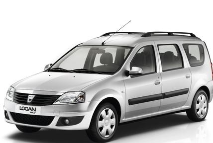 Рейлинги, поперечины Renault Logan MCV (2008-2013)