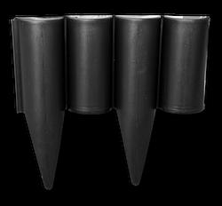 Палісад PALGARDEN, чорний, 2,5 м, OBP1202-002BK