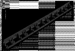 Бордюр садовий, RIM-BOARD, 45/1000мм, OBRB45