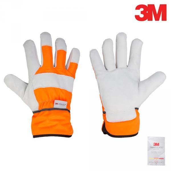 Захисні рукавички AVERT з натуральної шкіри, 3M, RWTA95