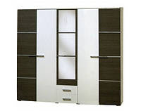 Шафа Світ Меблів Круиз 5Д 229×205.7×54.4 білий/дакар, фото 1