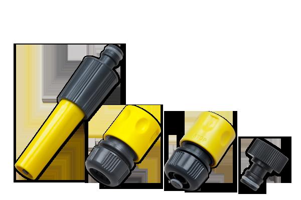 """REGEN MEISTER Комплект для поливального шланга 1/2"""" YELLOW, RM9304"""