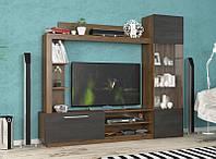 Стінка ТВ Мебель-Сервіс Тренто 203,9х176,8х35 горіх реналді\північне дерево