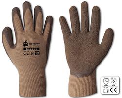 Перчатки защитные GRIZZLY латекс, размер 11,  блистер, RWG11