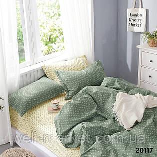 Комплект постельного белья  ранфорс 20117 семейный