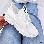 Женские белые кроссовки, обувной текстиль, фото 6