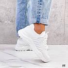 Женские белые кроссовки, обувной текстиль, фото 3