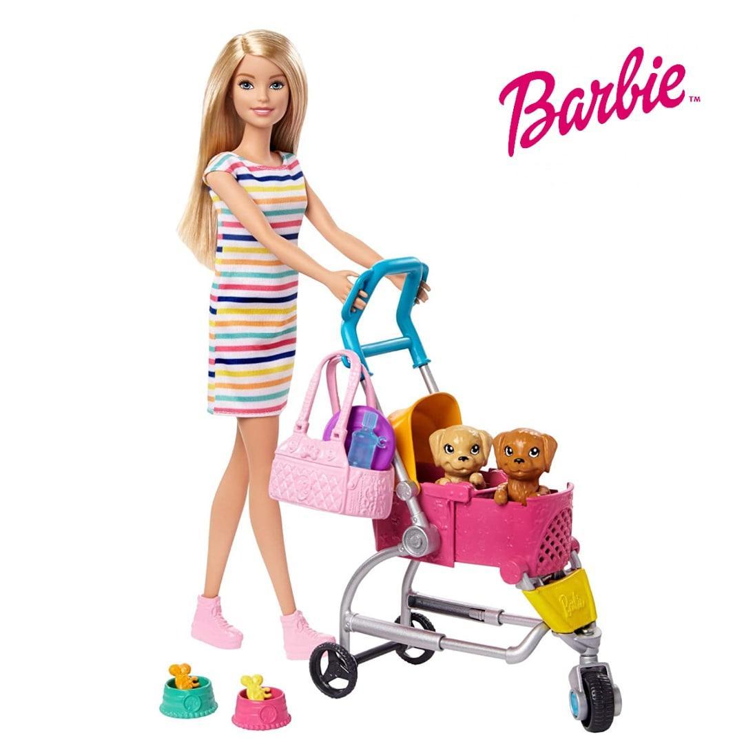 Лялька Барбі Прогулянка з цуценятами Barbie Stroll 'n Play Pups