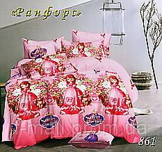 Комплект детского постельного белья Тет-А-Тет (Украина) ранфорс полуторное (861)