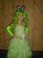 Детский карнавальный костюм Царевна Лягушка - прокат, киев, троещина
