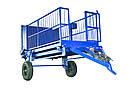 Вагова трап-візок серії ВТТ001 вантажопідйомністю 2 тонни, фото 4