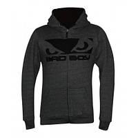 Спортивна кофта Bad Boy Fleece Dark Grey XL, фото 1