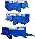 Весовая трап-телега серии ВТТ010 грузоподъемностью 2 тонны, фото 5