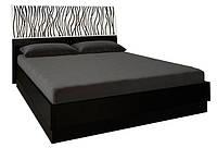 Ліжко двоспальне MiroMark Терра (підйомне) + каркас 160х200 чорний/білий глянець, фото 1