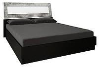 Ліжко двоспальне MiroMark Віола (підйомна) + каркас 180х200 чорний/білий глянець, фото 1