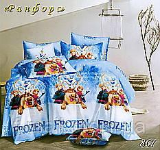 Комплект детского постельного белья Тет-А-Тет (Украина) ранфорс полуторное (867)