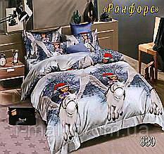 Комплект детского постельного белья Тет-А-Тет (Украина) ранфорс полуторное (880)