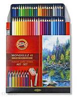 Koh-I-Noor Mondeluz 48 кольорів + кисть 3713