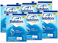 Bebilon Адванс 1 Початкове молоко від народження 6x1100г, фото 1