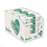 Серветки Pampers Aqua Pure 9x48 шт