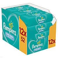 Серветки Pampers Fresh Clean 12x52 шт