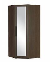 Шафа кутова (дзеркало) Мебель Сервіс Токіо 96х213,5х36 венге темне, фото 1
