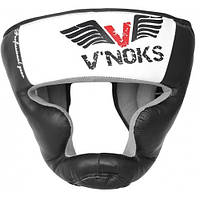 Боксерский шлем V`Noks Aria White M, фото 1