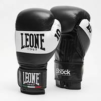 Боксерские перчатки Leone Shock Black 16 ун.