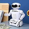 Дитяча скарбничка сейф Robot PIGGY BANK з кодовим замком, фото 3