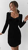 """Платье для милых дам  """"Велюр""""  Dress Code"""