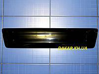 Зимова заглушка решітки радіатора Renault Trafic низ 2001-2006 глянець Fly. Утеплювач решітки, фото 1