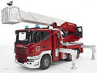 Пожежна машина Bruder SCANIA пожарная машина (03590)