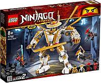 Блоковий конструктор LEGO NINJAGO Золотой робот (71702), фото 1