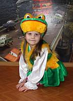 Детский карнавальный костюм Жабка девочка - прокат, киев, троещина
