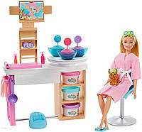 Лялька з аксесуарами Mattel Игровой набор Barbie СПА-салон (GJR84), фото 1