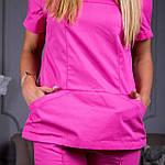 Женские медицинские костюмы Avicenna розовый 46, фото 4