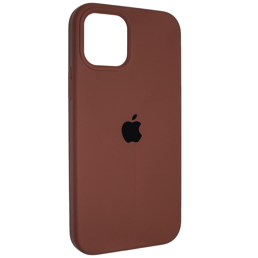 """Чехол Full Silicon iPhone 12 Pro - """"Шоколад №60"""""""