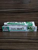 Зубная паста Dabur Базилик, Dabur Herb'l Basil Natural Toothpaste 75+25 гр