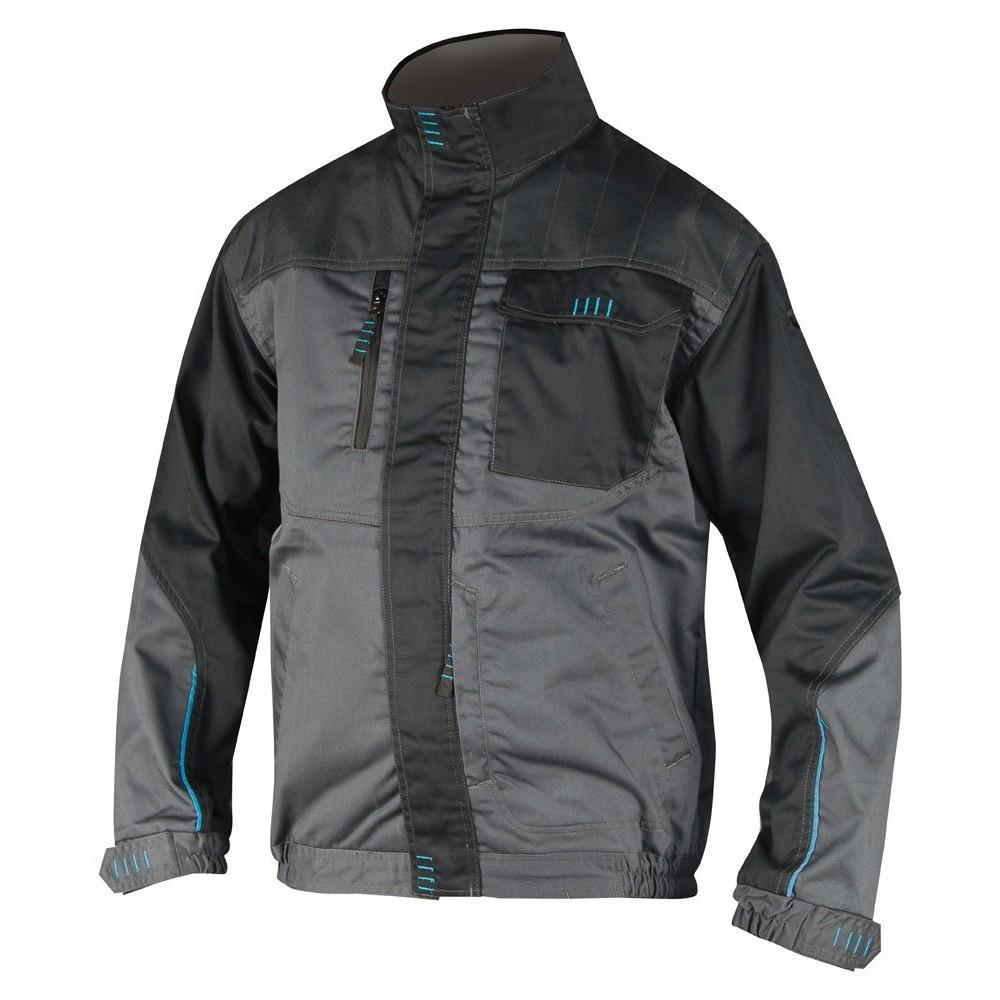 Куртка робоча чоловіча мод.4TECH, сіро-чорна