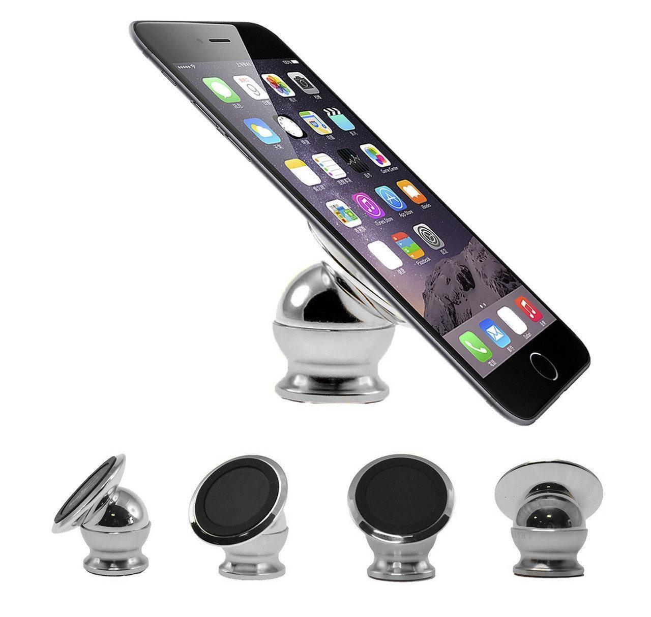 Держатель для телефона в машину на магните, Mobile Bracket, подставка для телефона.Черный (ST)