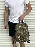 Спортивный мужской рюкзак камуфляжный, фото 3